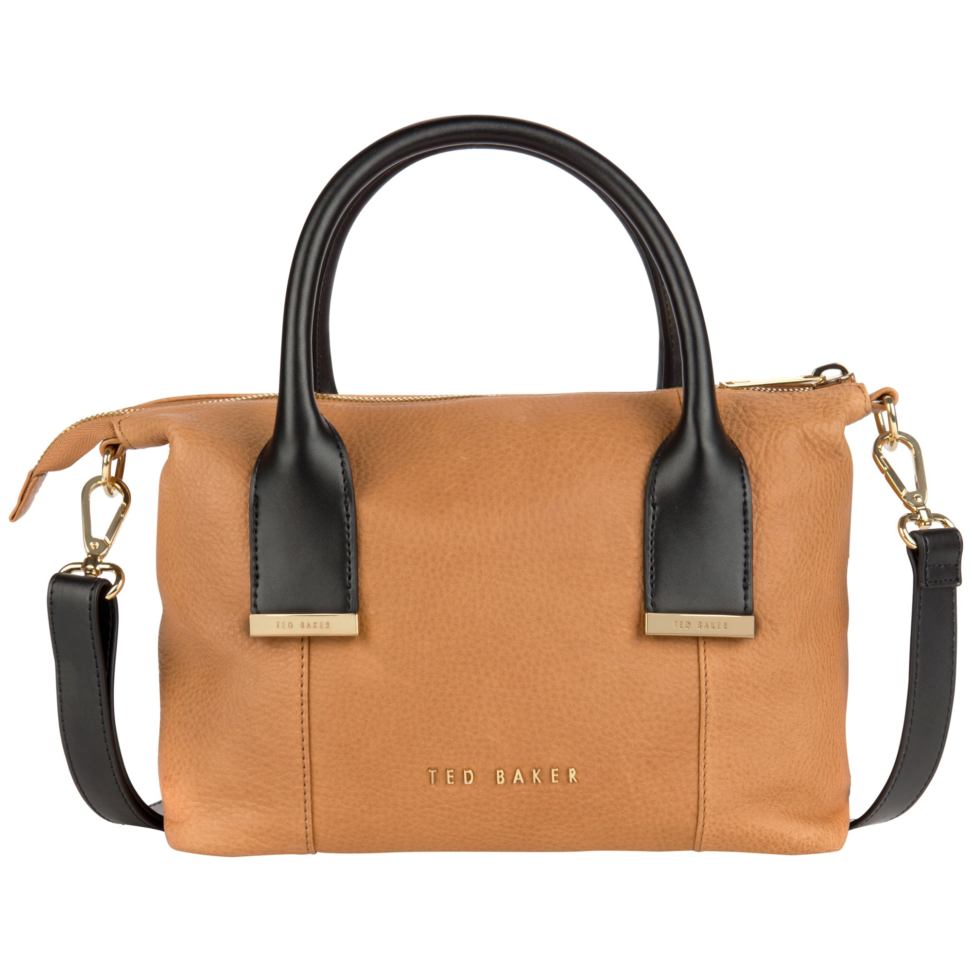 762e3714f Ted Baker Amelia Leather Mini Tote Bag in Brown - Lyst