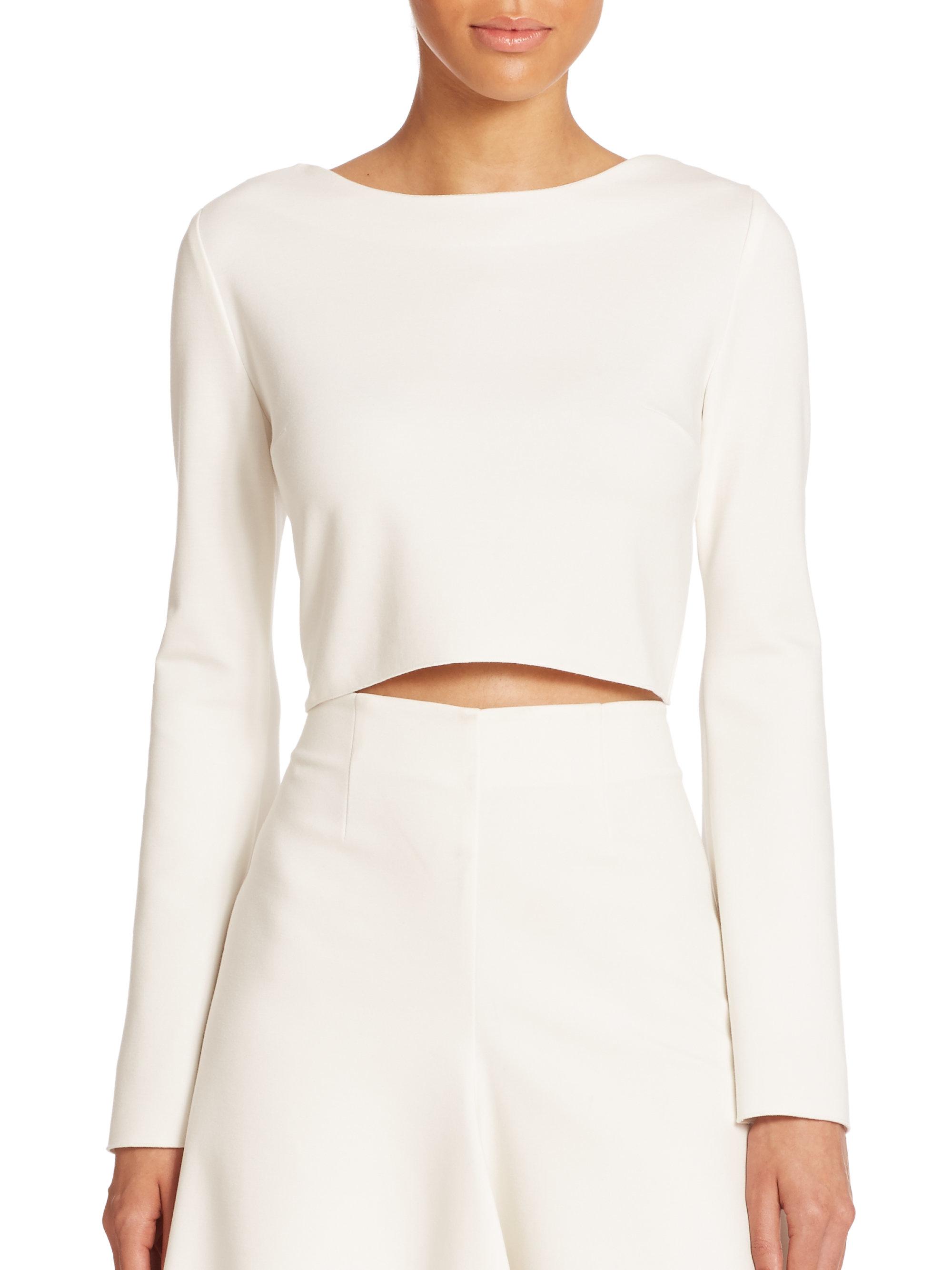Explore Sale Online Nicholas Woman Lace-up Quilted Ponte Top White Size 0 Nicholas Cheap Shopping Online Cheap Wholesale Price Free Shipping 2018 Unisex vo5SC2