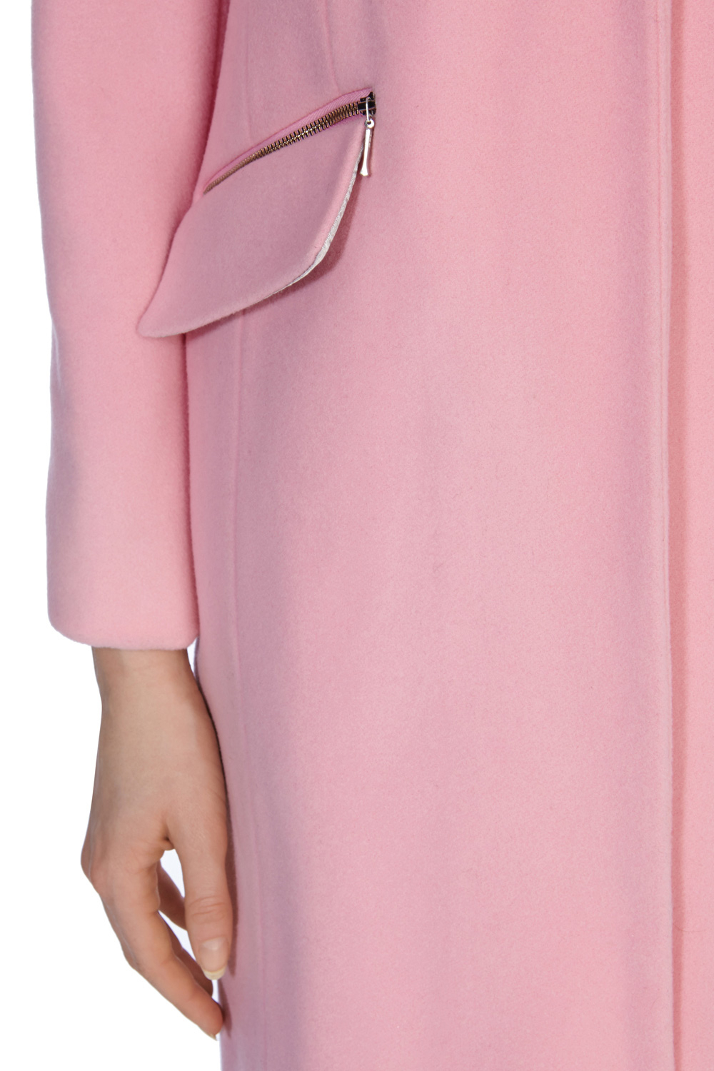 Coast Crombie Coat Petite in Pink | Lyst