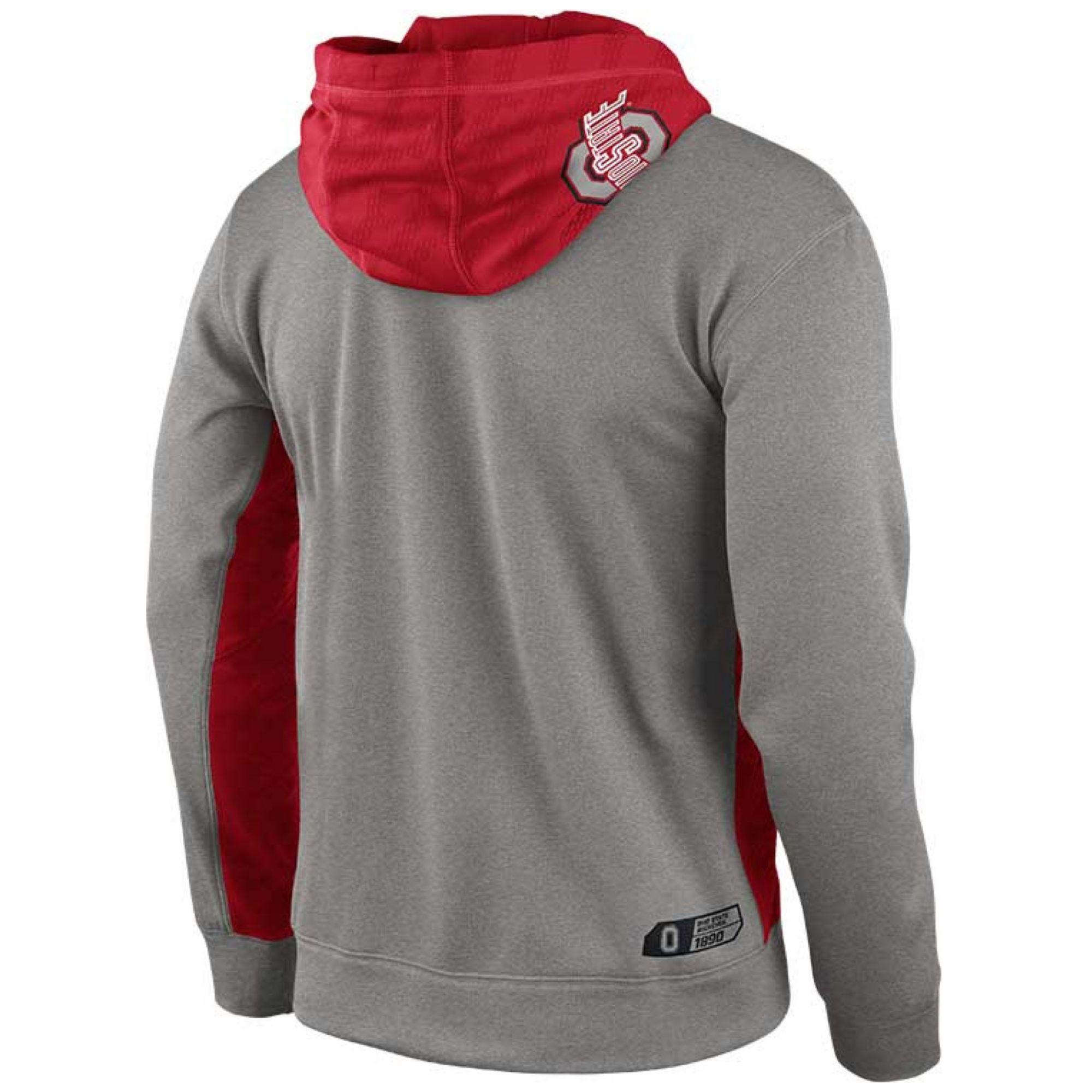 Lyst Nike Mens Ohio State Buckeyes Thermafit Hoodie