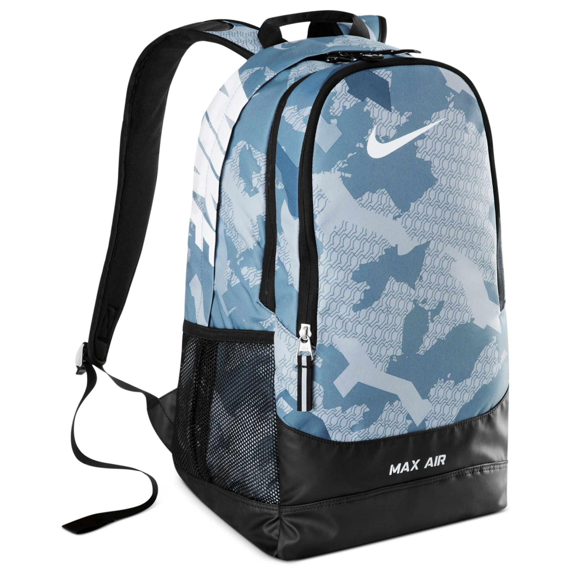 9b41469ae6b6 Lyst - Nike Team Training Max Air Large Graphic Backpack in Blue for Men