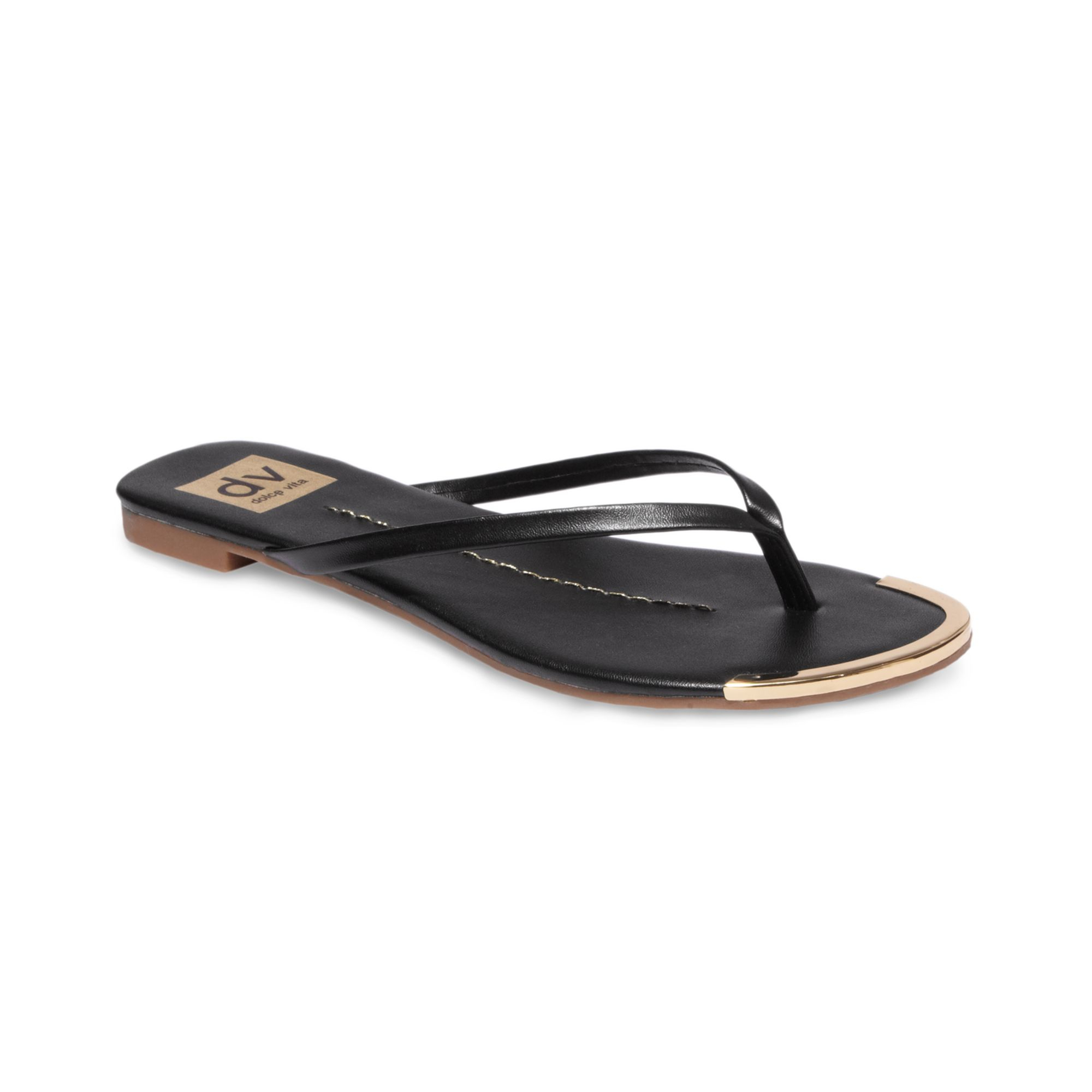 76cda859bb5 Lyst - Dolce Vita Dania Thong Sandals in Black