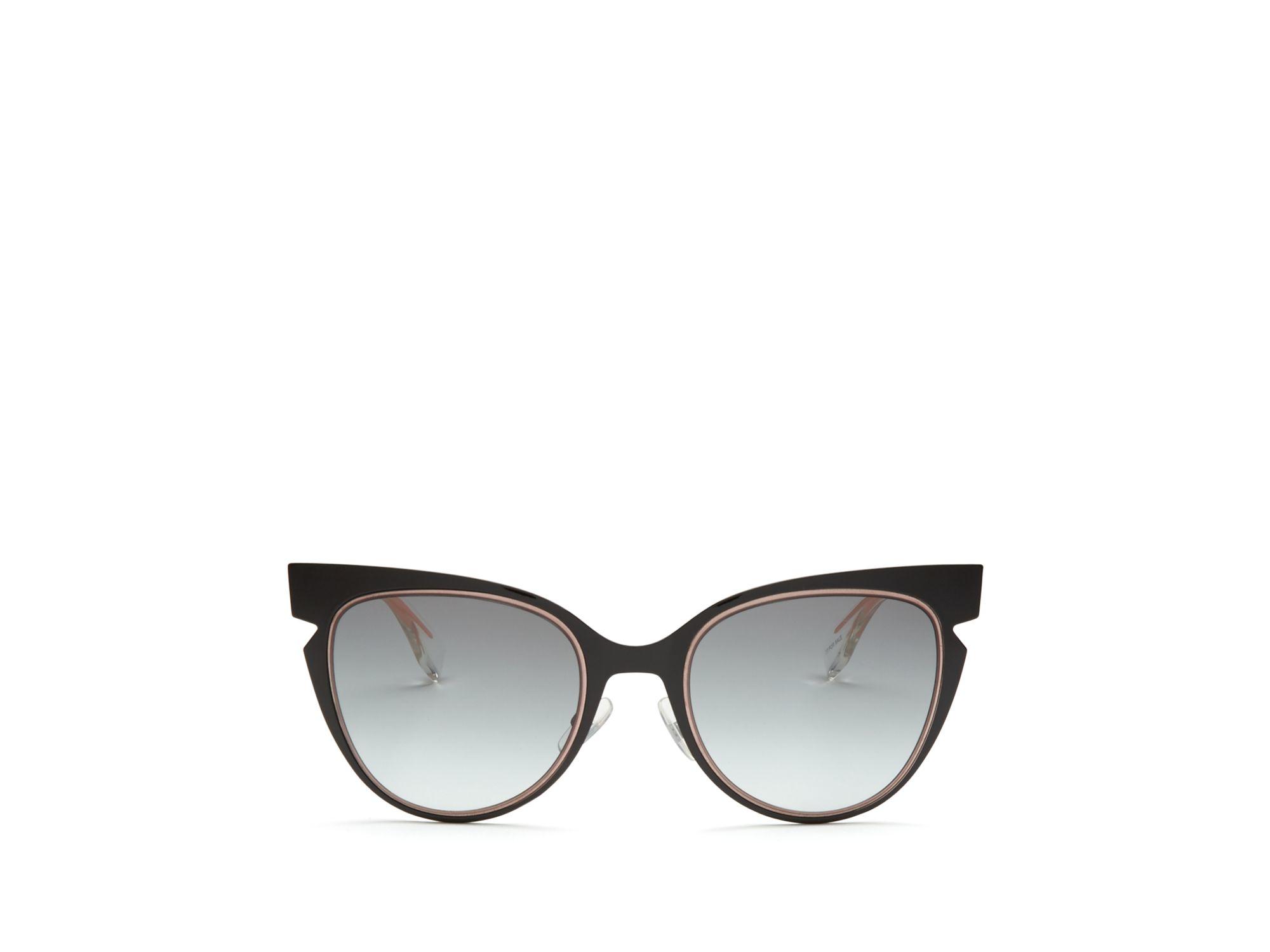 1105a306fc2 Fendi - Black Cut Out Cat Eye Sunglasses