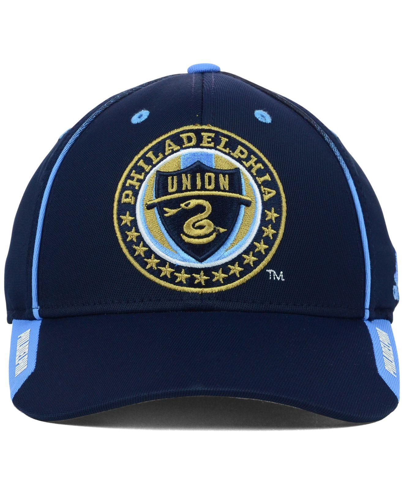 cheap for discount 7fb21 87ae4 adidas Philadelphia Union Mls Mid Fielder Cap in Blue for Men - Lyst