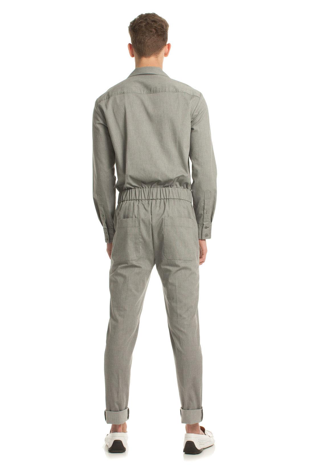 Lyst Mr Turk Reily Jumpsuit In Gray For Men