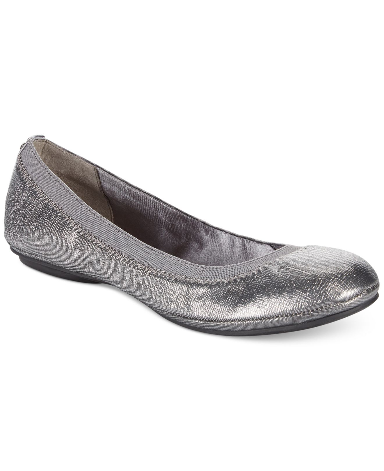 Lyst Bandolino Edition Ballet Flats In Metallic