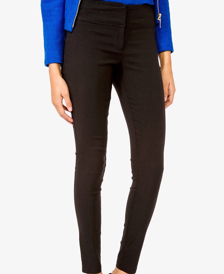 Gallery - Forever 21 High Waisted Skinny Pants In Black Lyst
