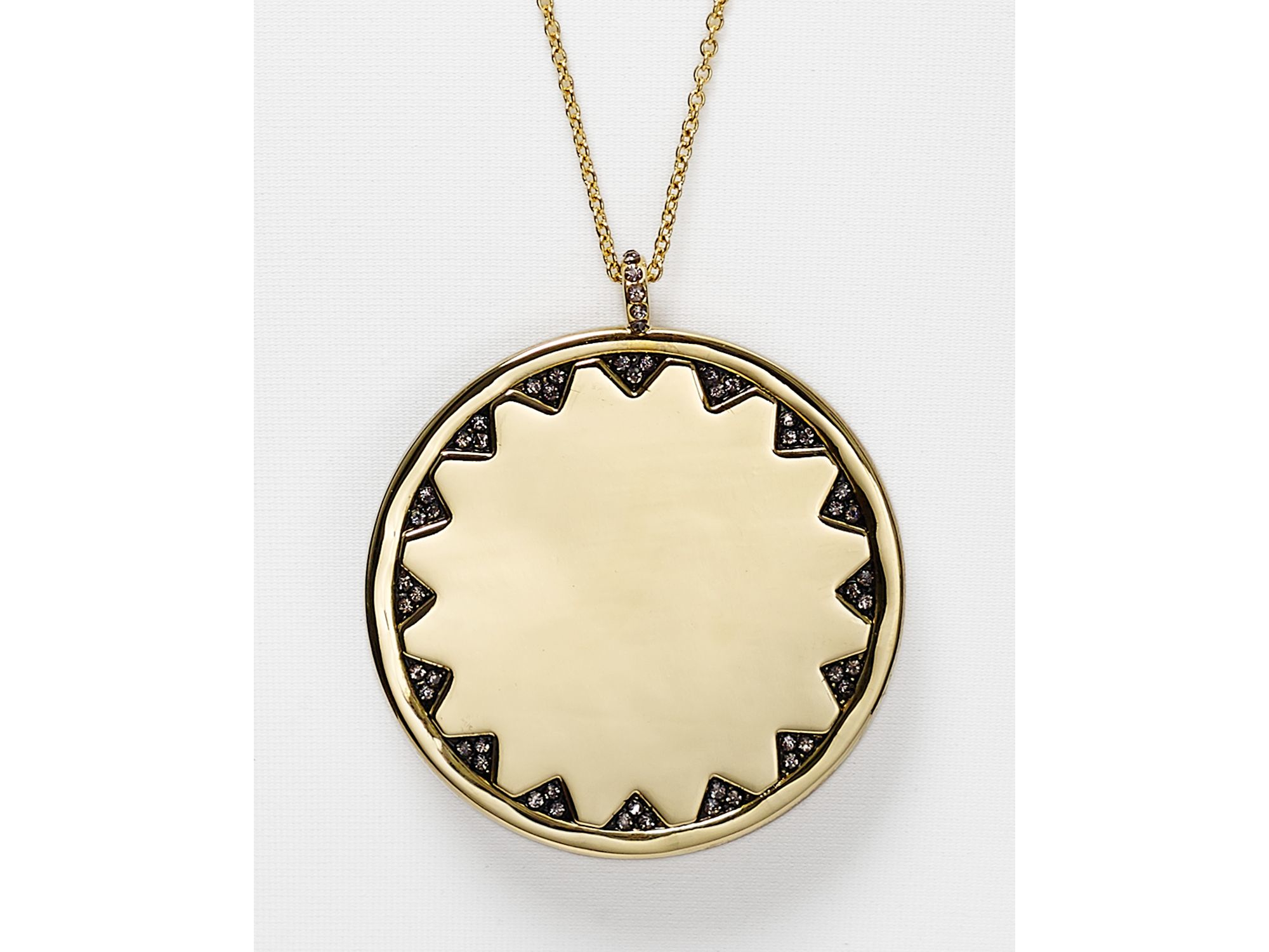 Lyst house of harlow 1960 1960 incan sun pendant necklace 275 gallery mozeypictures Gallery