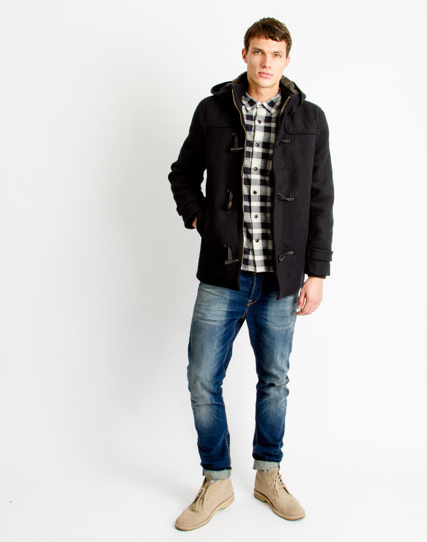 Collection Mens Duffle Coat Pictures - Reikian