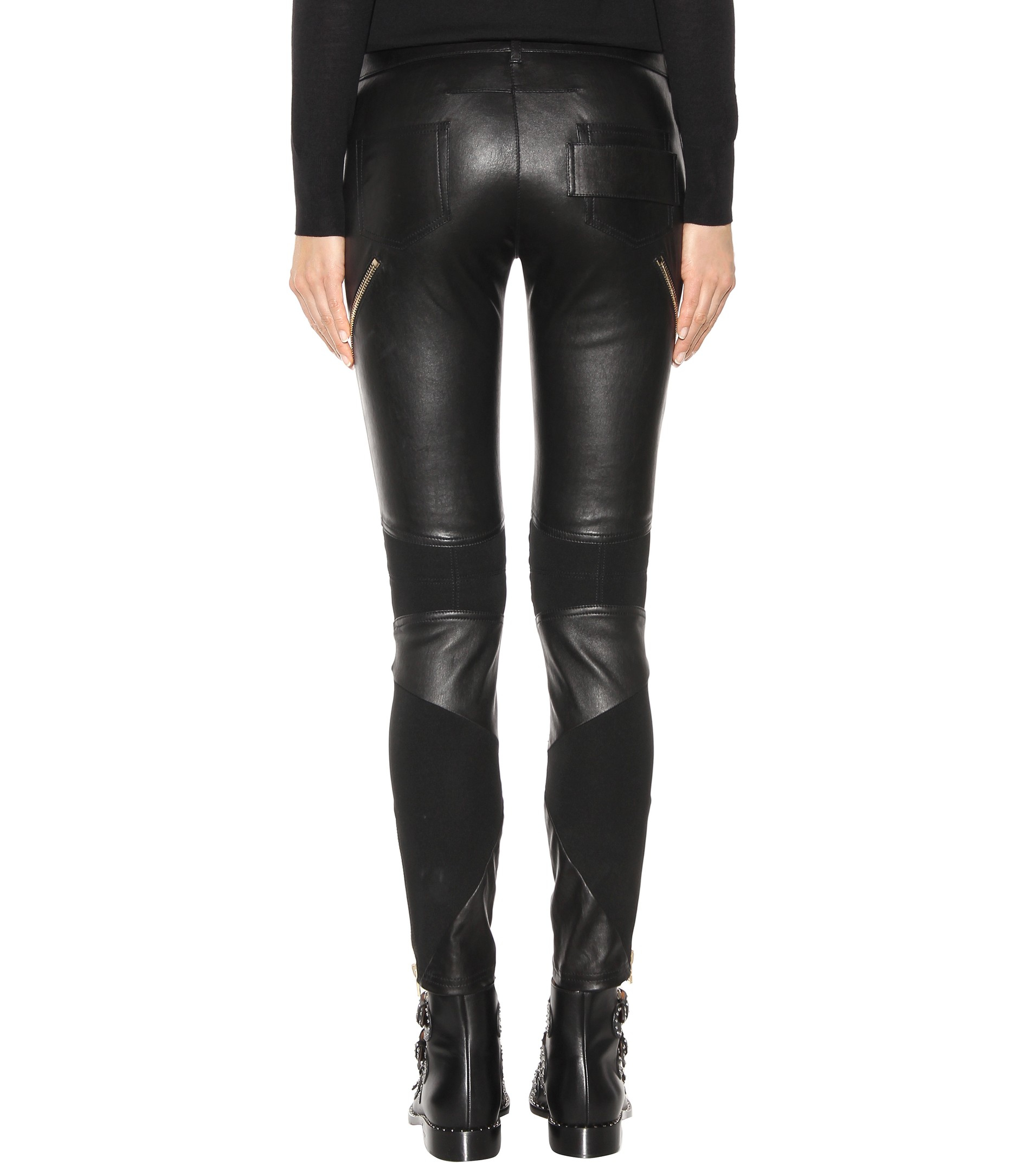 Cheap Free Shipping Outlet Store Online Leather trousers Givenchy Super Buy Cheap Best Prices Low Shipping Fee Cheap Price 8pPmBHcbVx