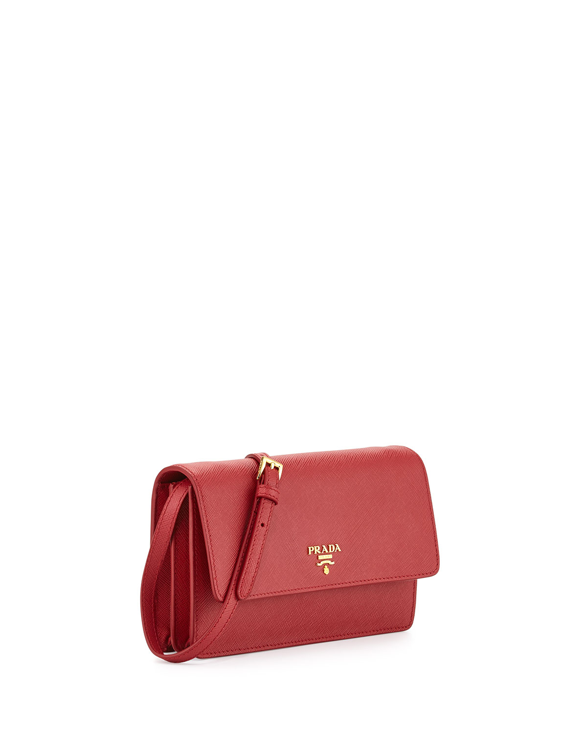 where can i buy lyst prada wallet on a chain velvet shoulder bag in red  5577e 5d3e8f4e8aa92