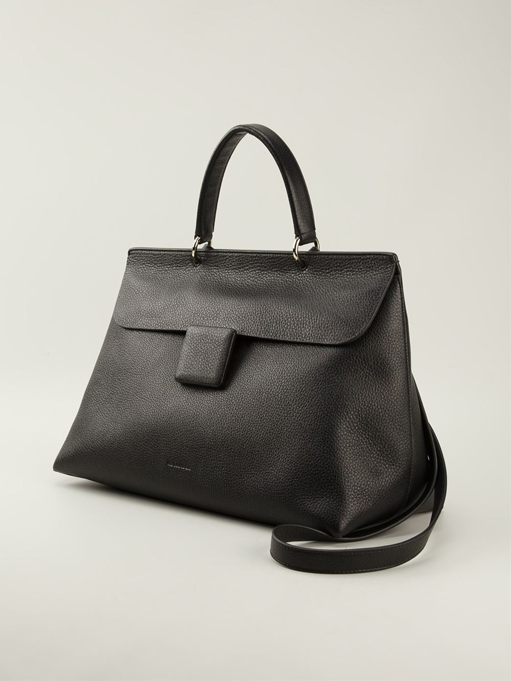 Lyst Jil Sander Large Lady J Tote Bag In Black