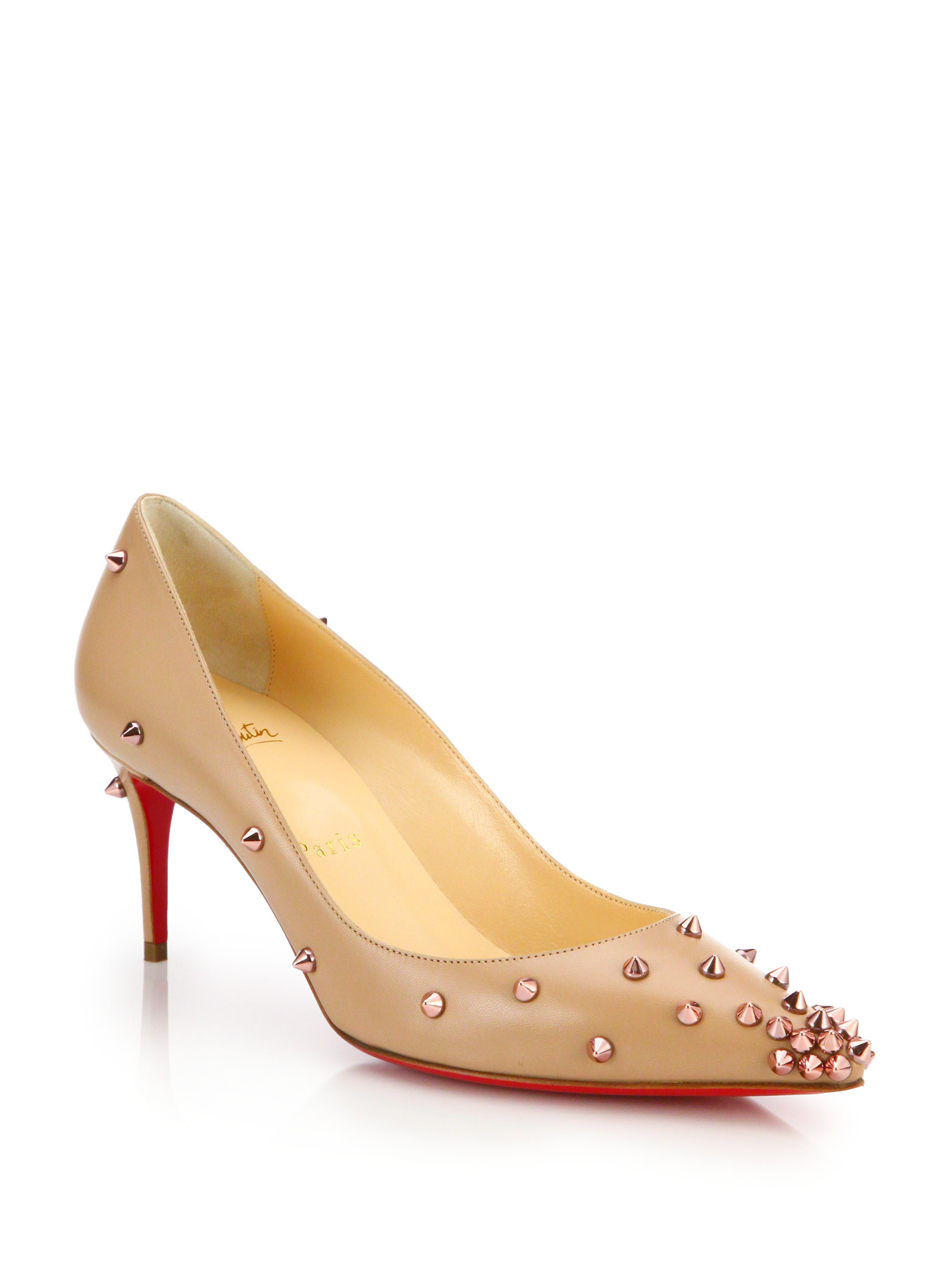 christian louboutin degraspike 70mm