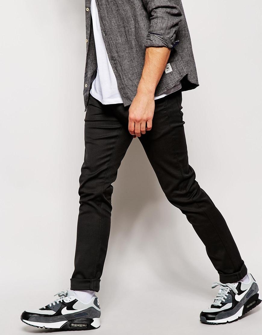 00276195 Carhartt WIP Rebel Trousers In Slim Fit in Gray for Men - Lyst