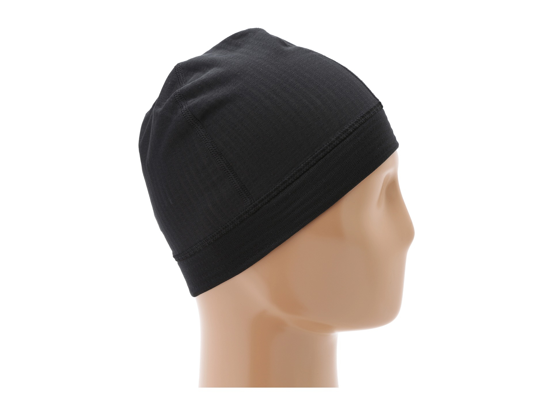7d4fd61158f6b Patagonia Capilene 4 Expedition Weight Beanie in Black - Lyst
