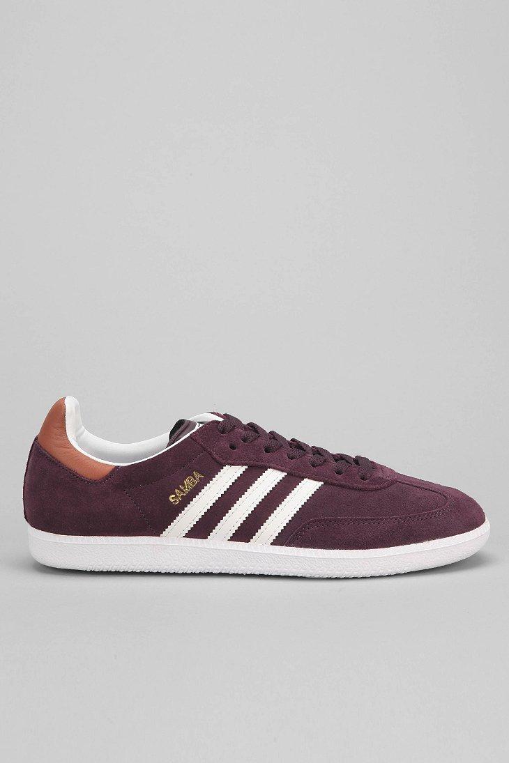 99e7ab91706fc ... get lyst adidas samba sneaker in purple for men 7c3e8 93e87