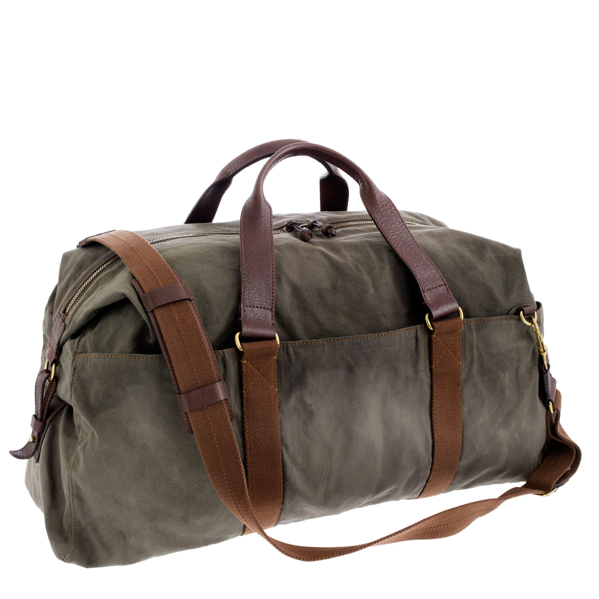 Weekend Travel Bag Mens Duffel Bag Vinatge Canvas Leather B(Xl 21'', Grey) $ 63 99 Prime. out of 5 stars Polare. Mens Full Grain Leather Duffel Bag Overnight Travel Duffle Weekender Bag. from $ 99 Prime. out of 5 stars NEWHEY.