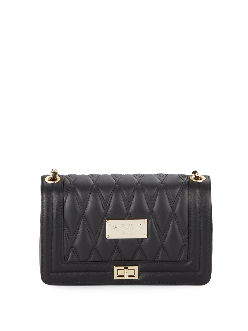 03a1318034 Valentino By Mario Valentino Alice Quilted Leather Shoulder Bag in ...