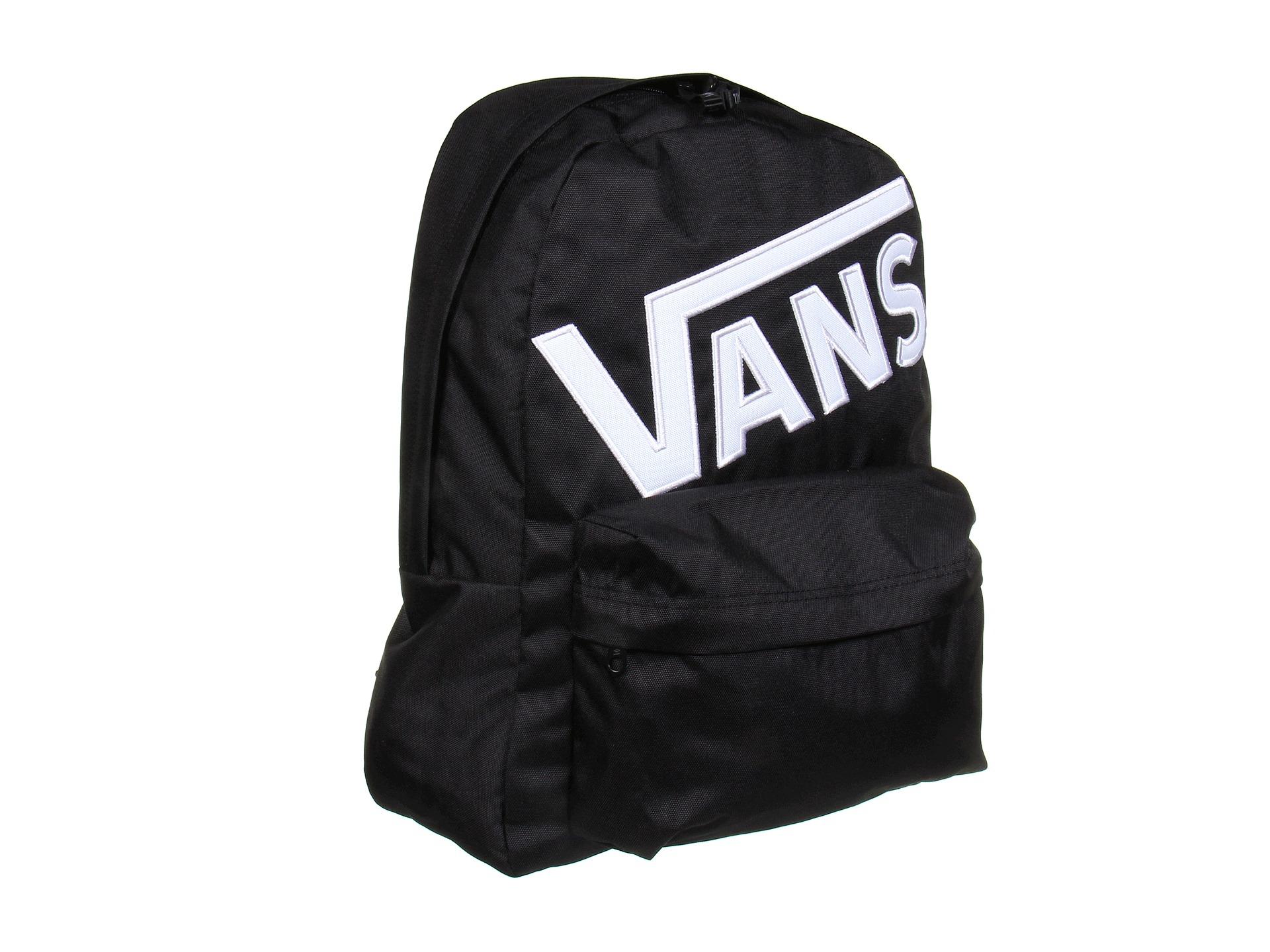 Vans Old Skool Ii Backpack In Black For Men Black White