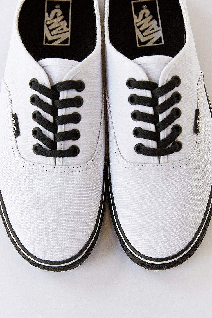 7d360dd12f White Sneaker For Men Lyst Sole Authentic Men s Black In Vans xqw0ZSwU