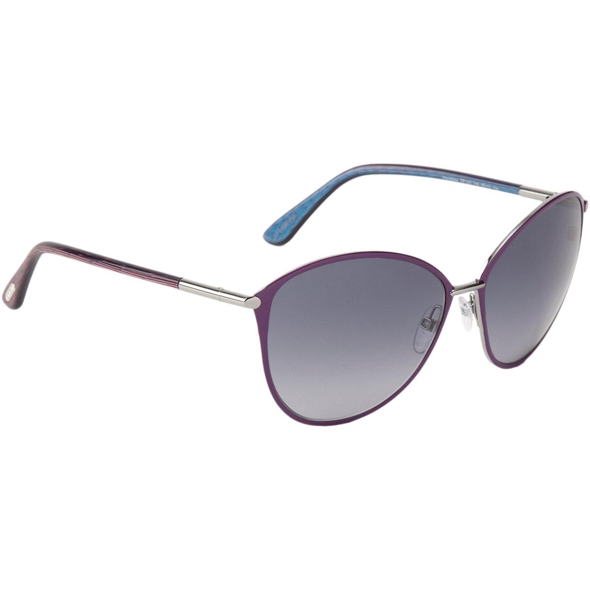 lyst tom ford penelope sunglasses in purple. Black Bedroom Furniture Sets. Home Design Ideas