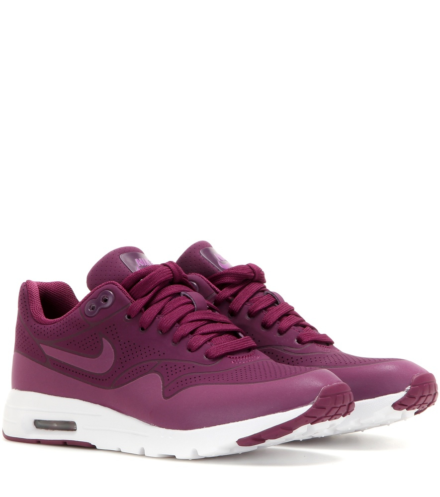 nike air max 1 ultra sneakers in purple lyst. Black Bedroom Furniture Sets. Home Design Ideas