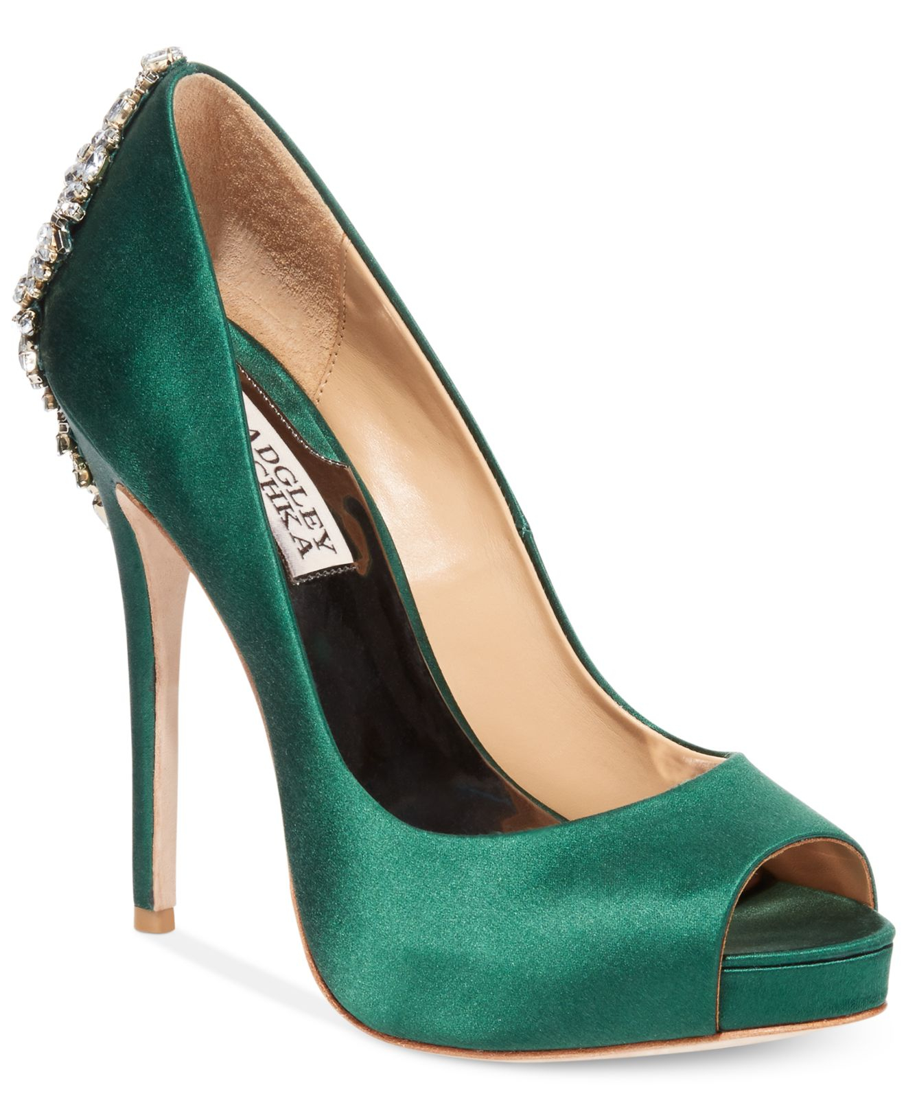 Emerald Green Shoes For Womens