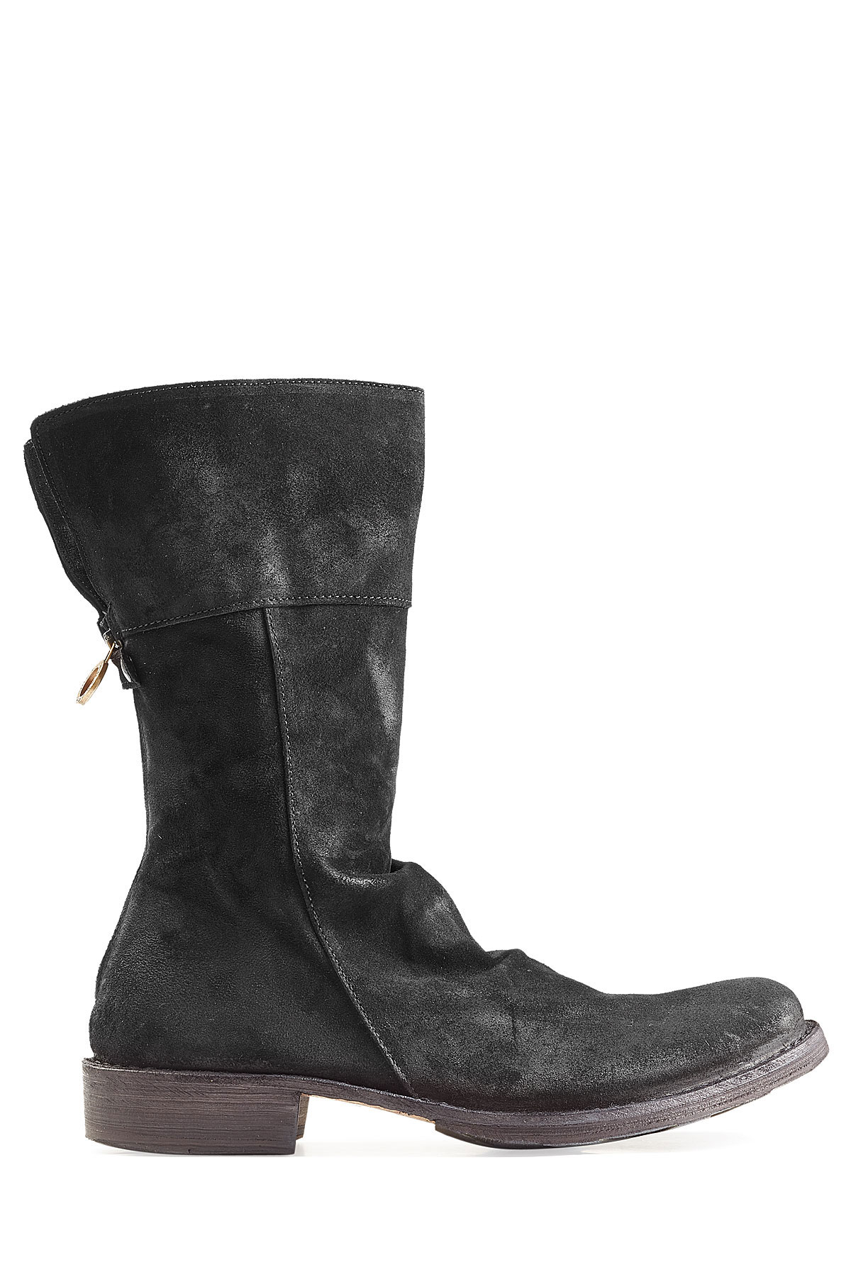fiorentini baker leather boots black in black lyst