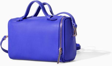 Zara Mini Bowling Bag Zara Mini Bowling Bag With