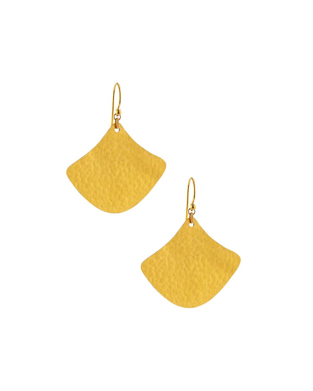 Gurhan Flake Lotus Drop Earrings MhQXjdZ