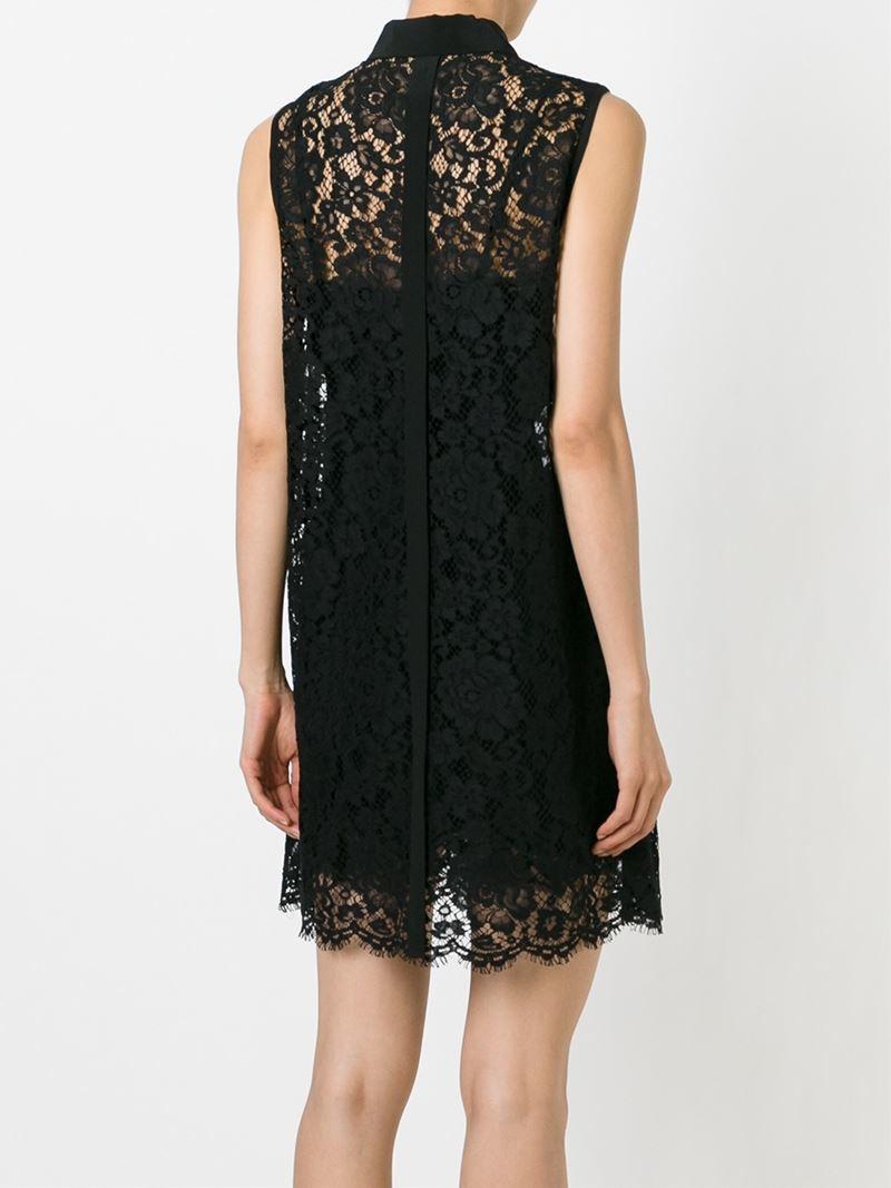 lace shirt dress - Black Dolce & Gabbana yb0lhmk