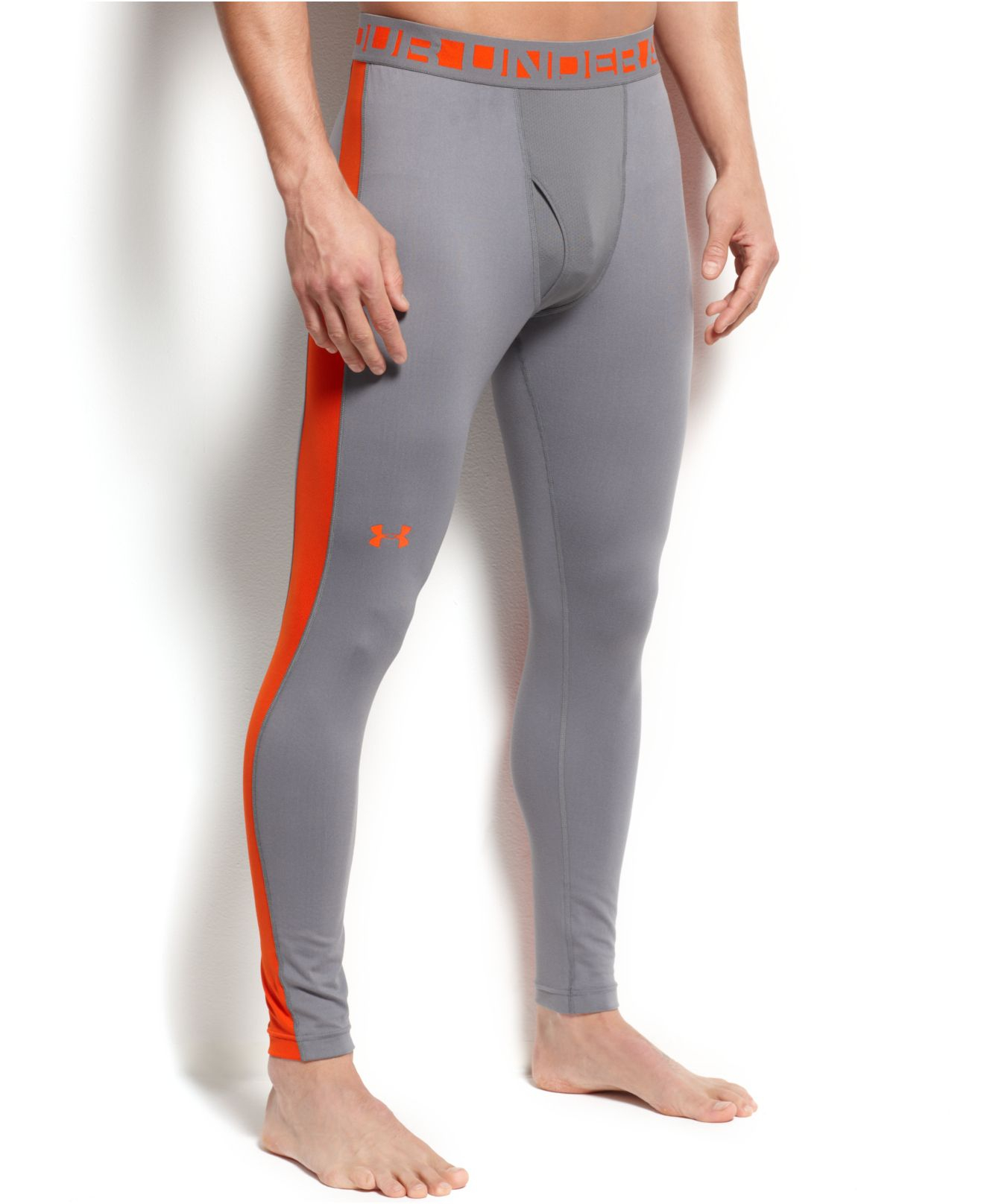 Product Description: Men's UNDER ARMOUR® COLDGEAR® REACTOR RUN TIGHT:: Run smart in your Men's Under Armour ColdGear Reactor Run Tight, with intelligent insulation that adapts and offers just the right breathability and warmth for your activity level.