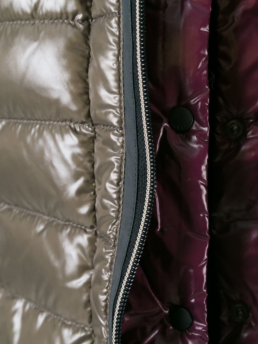 Duvetica Mallos Quilted Jacket In Brown Lyst