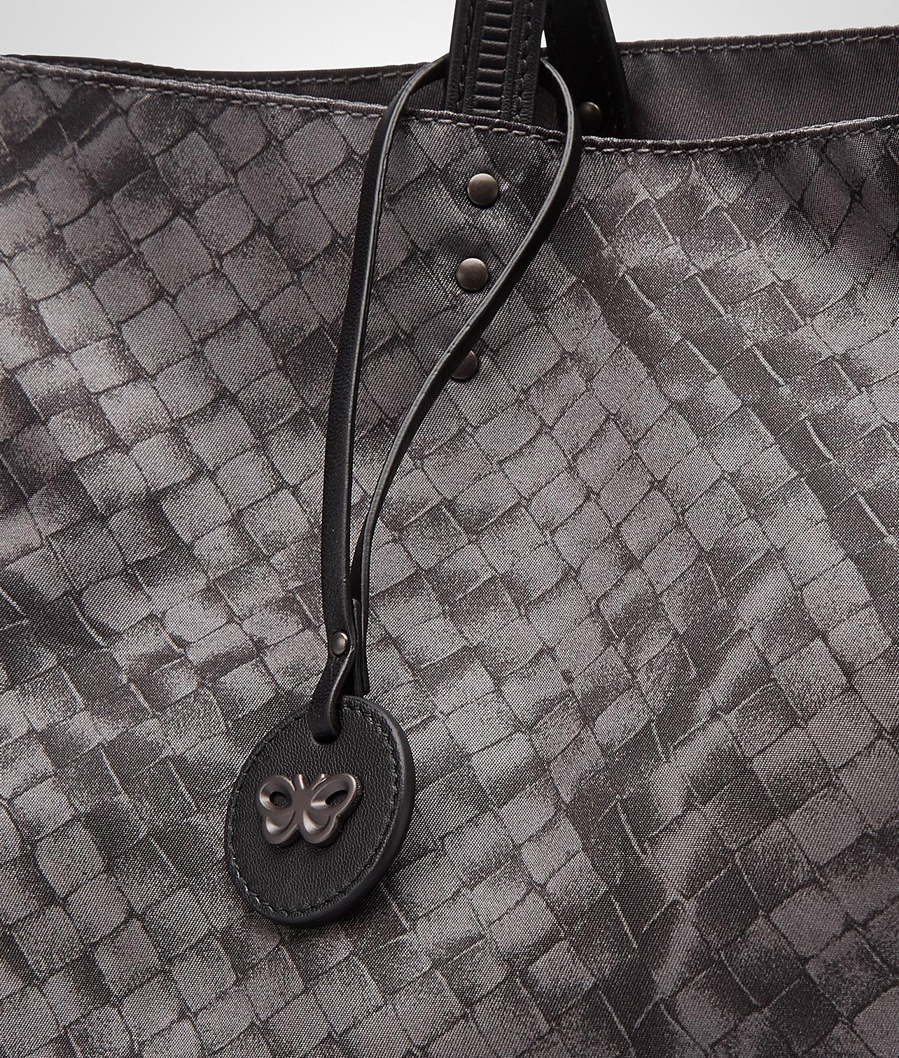 fb57603d959 Bottega veneta New Light Grey Intrecciolusion Large Tote in Gray .