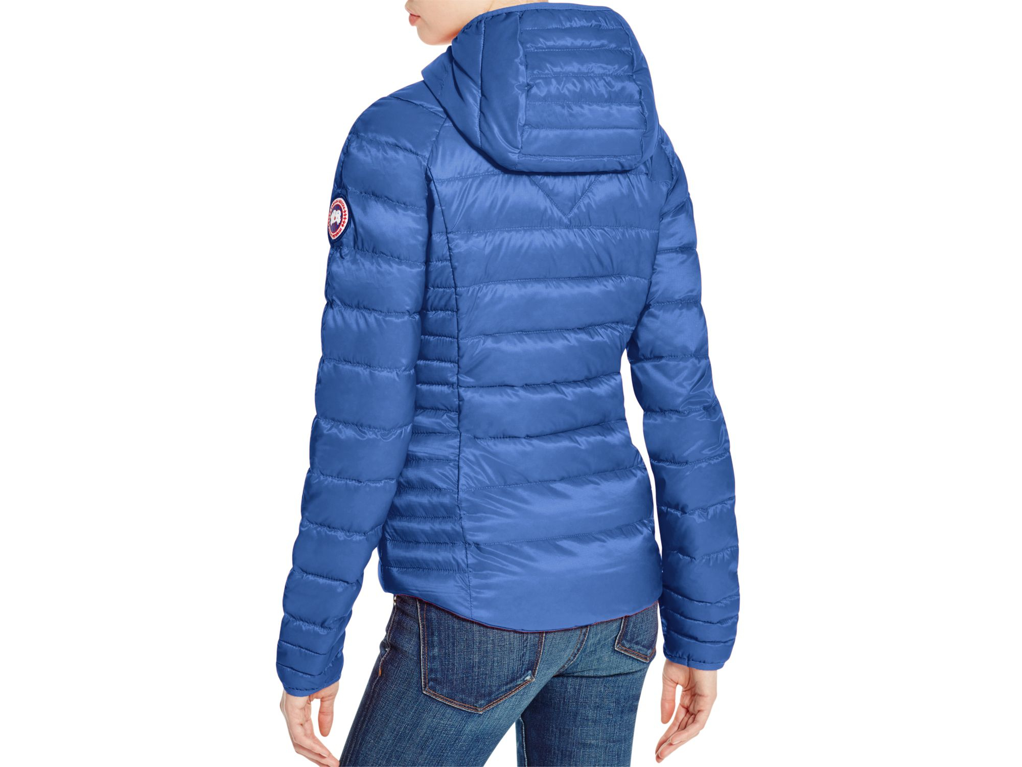 Canada Goose coats replica fake - Canada goose Brookvale Hooded Puffer Jacket in Blue (Royal Blue ...
