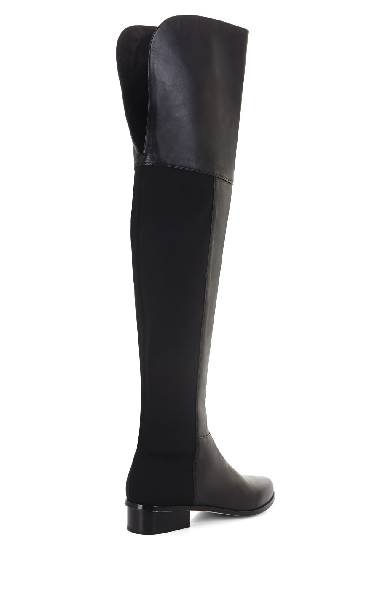 Bcbgmaxazria Slink Over-the-knee Day Boot in Black | Lyst