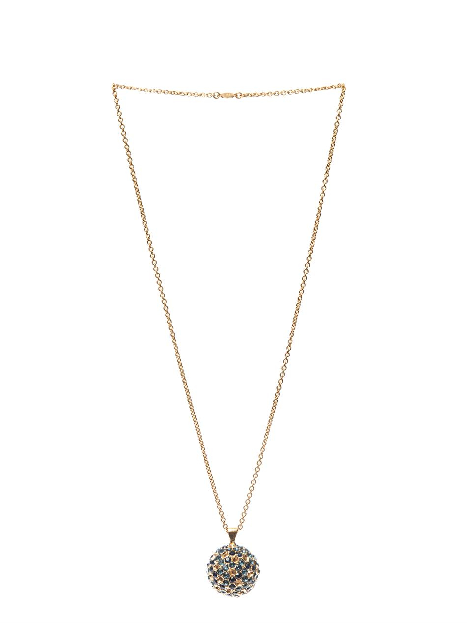 Scarab faux-pearl and crystal-embellished necklace Alexander McQueen vnEBoB