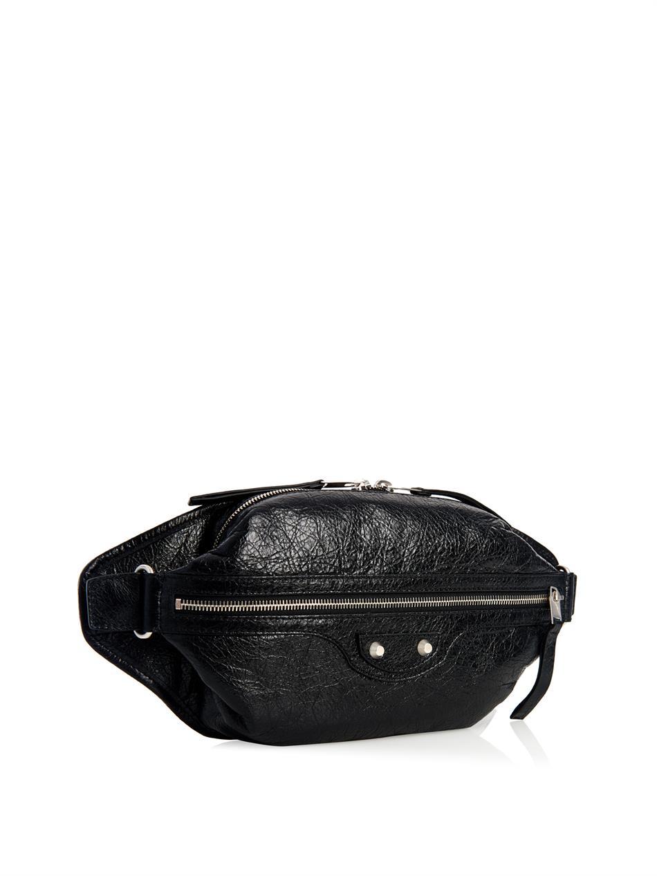 5a8b98cbe118 Lyst - Balenciaga Classic Neo Lift Messenger Bag in Black for Men