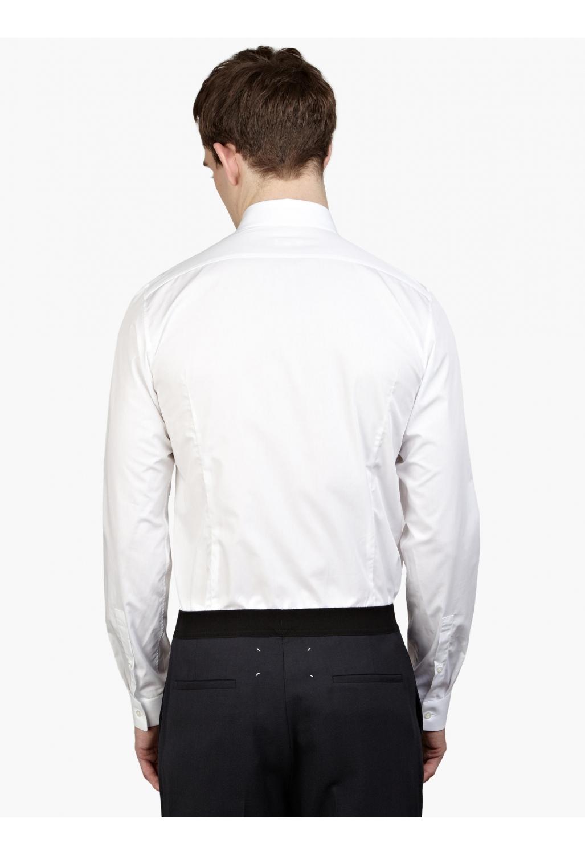 Jil Sander Men S White Slim Fit Beata Shirt In White For