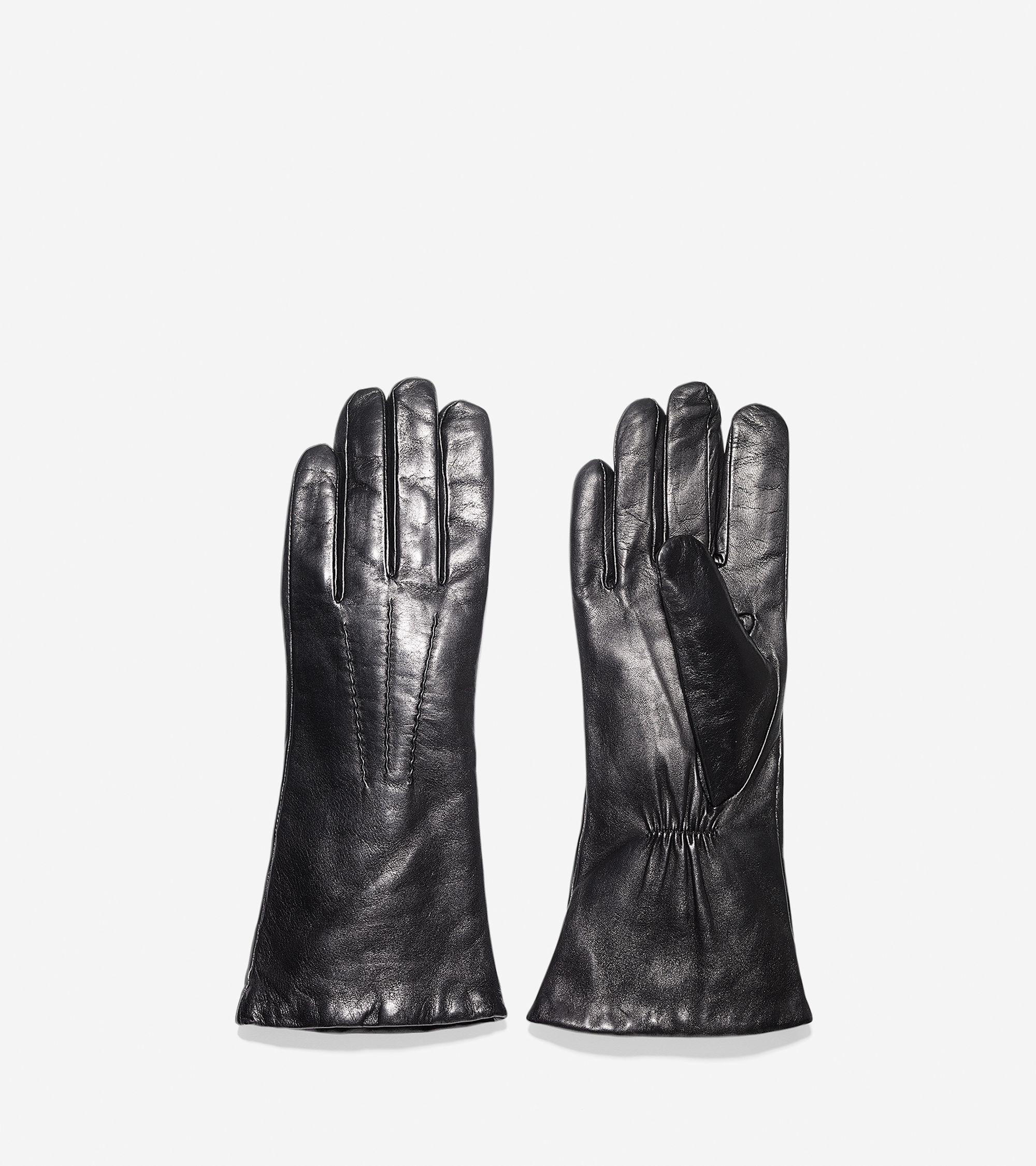 Cole haan black leather gloves - Gallery Women S Leather Gloves