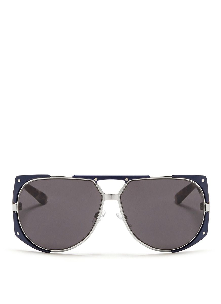 Dior 'enigmatic' Panther Print Acetate Temple Metal ...