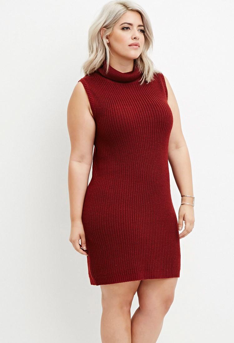 Plus size turtleneck bodycon dress sale evening wear