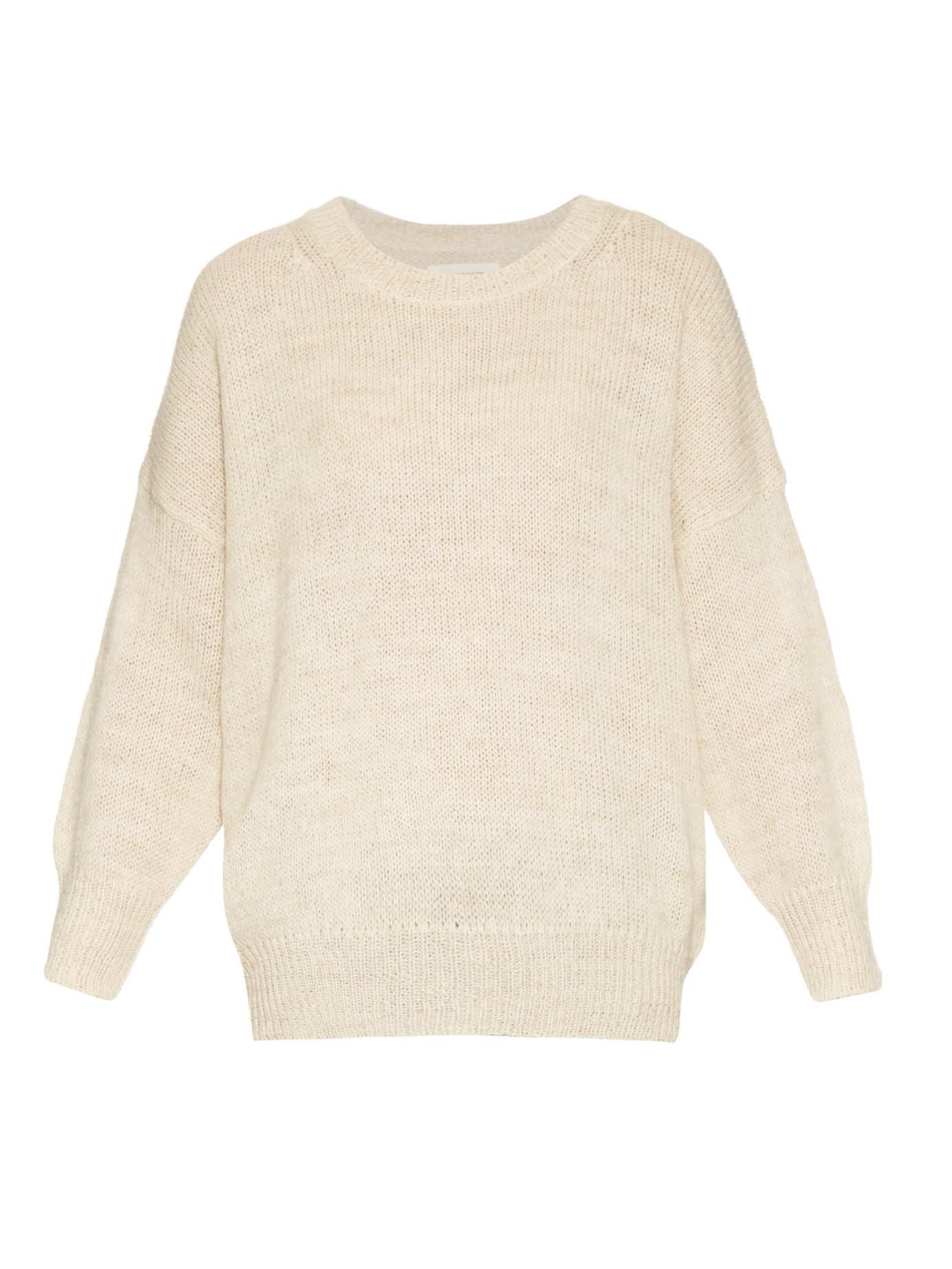 Étoile isabel marant Risha Loose-knit Sweater in Natural | Lyst