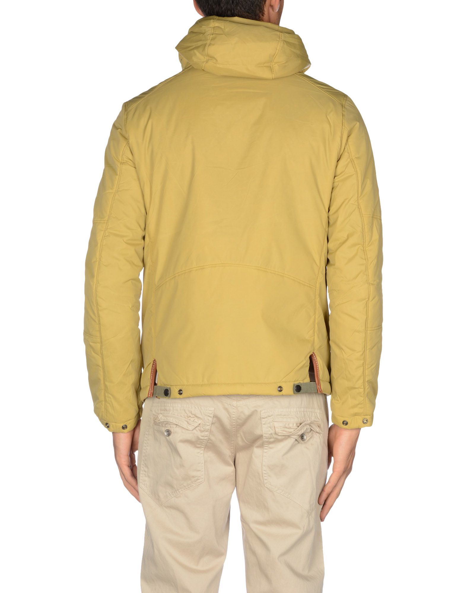 lyst replay jacket in yellow for men