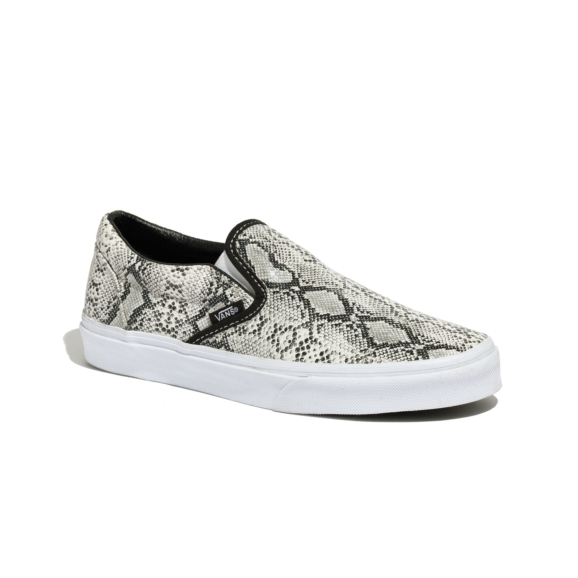 8f76a5e5ad0 Lyst - Madewell Vans® Classic Slip-ons In Snake Print