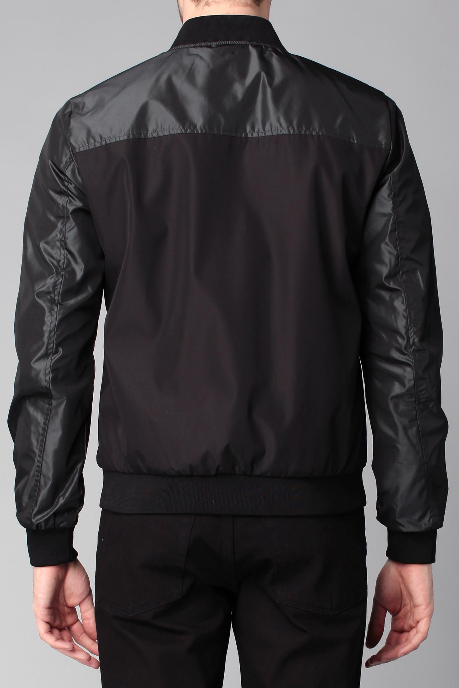 jack jones zipped jacket in black for men lyst. Black Bedroom Furniture Sets. Home Design Ideas