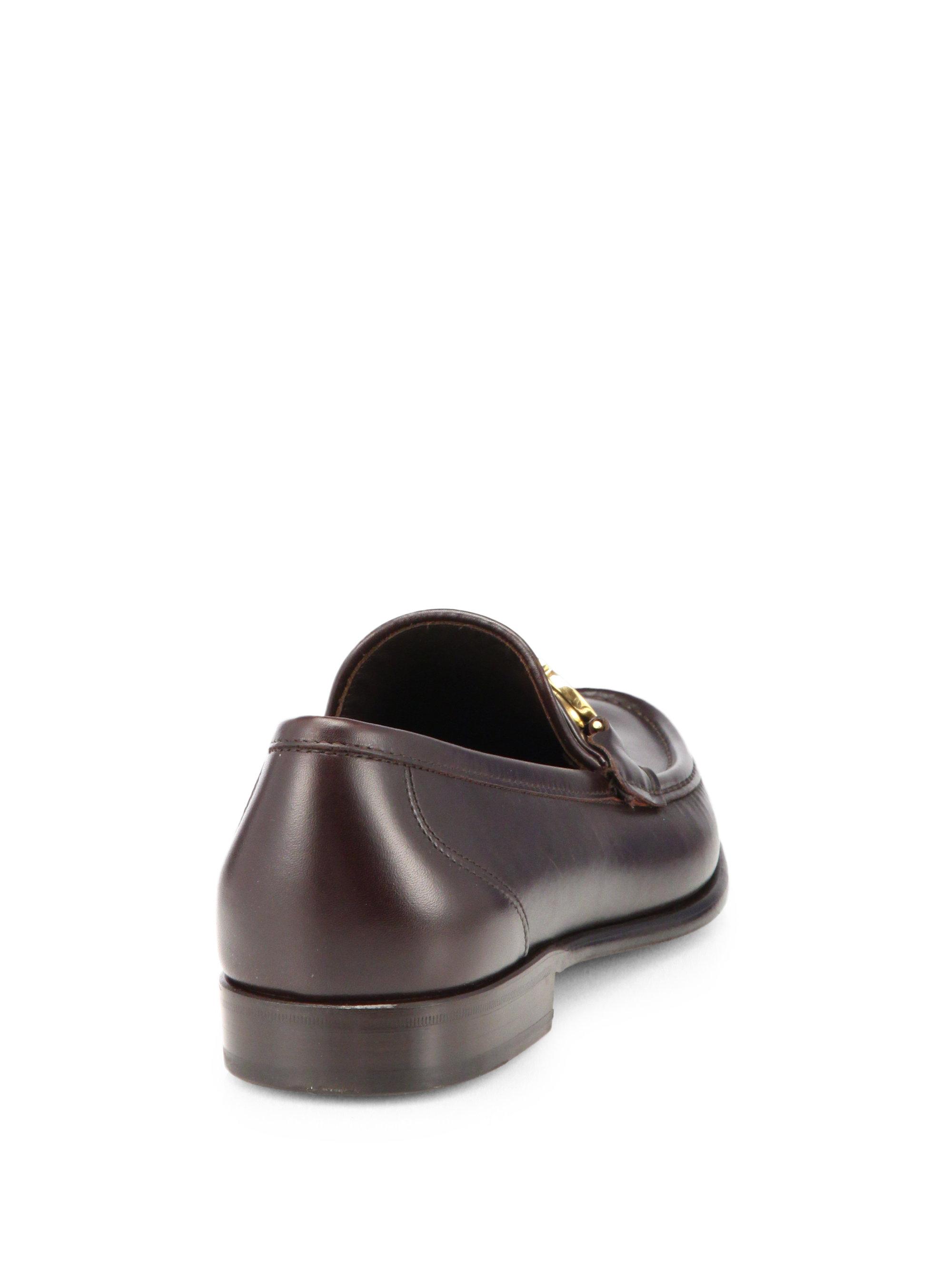 Ferragamo Side Bit Mens Shoes