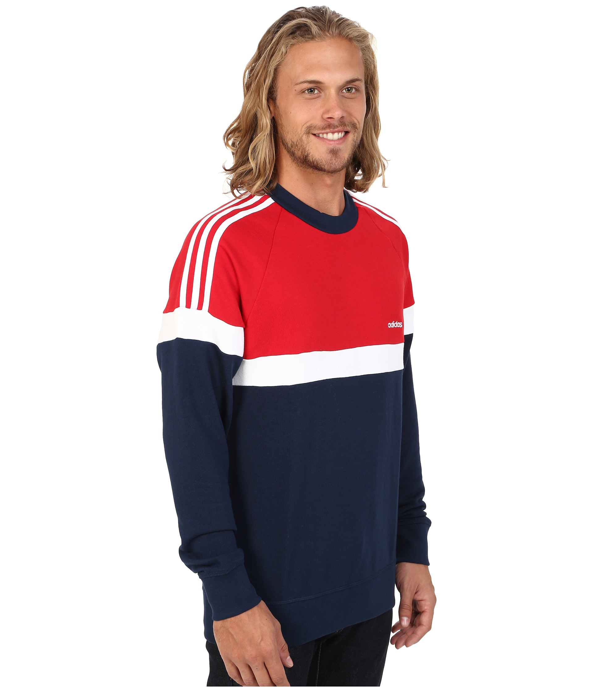 adidas originals mens itasca crew sweatshirt