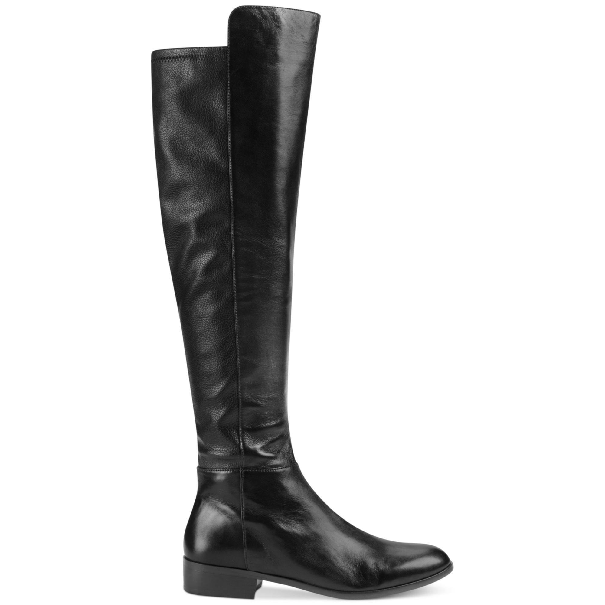 michael kors bromley flat boots in black lyst