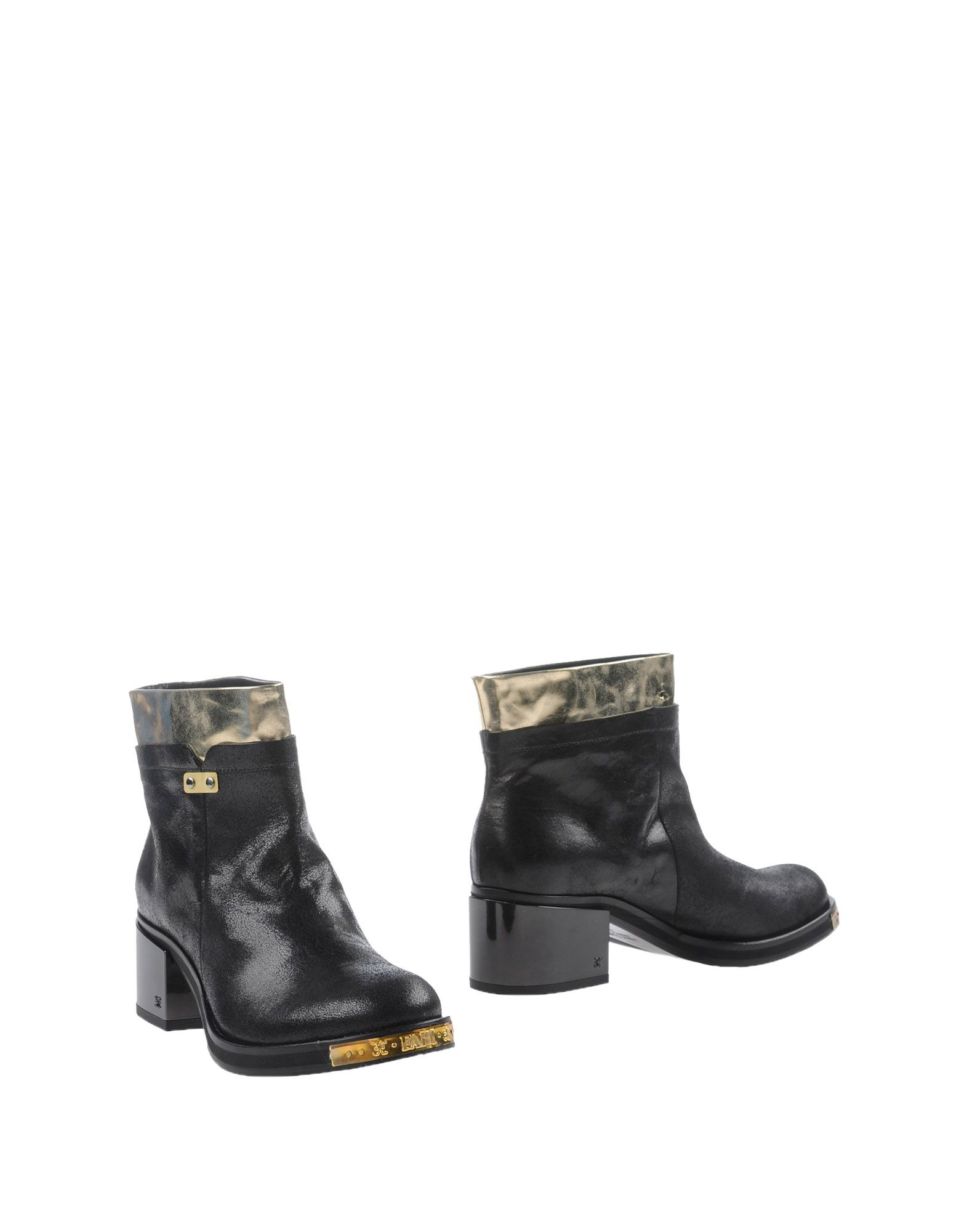 fabi ankle boots in black lyst